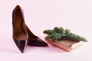Hight heel shoes for Christmas party