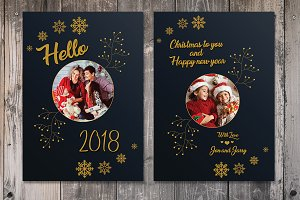 Hello 2018 / New Year Card