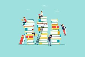 Online library, e-books.