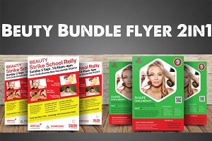 Beuty Bundle Flyer 1in2