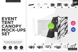 Event Tent Canopy Mock-up FREE demo