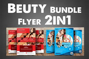 Beuty Bundle Flyer 2in1