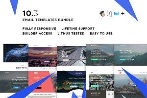 10 Email templates bundle III