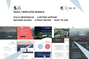 5 Email templates bundle VI