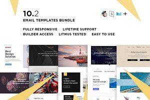 10 Email  templates bundle II