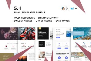 5 Email templates bundle IV