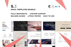 5 Email templates bundle III