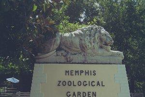 Vintage Zoo Sign