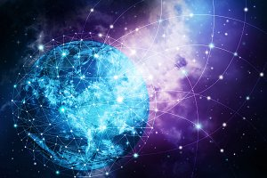 Global network internet Concept