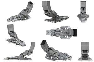 Sci-fi robot leg set