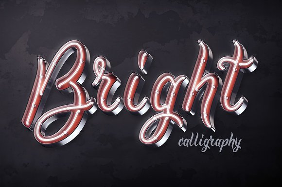 Bright calligraphy psd font display fonts creative market bright calligraphy psd font display publicscrutiny Gallery