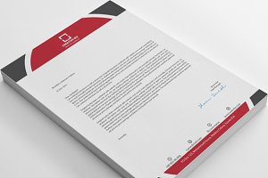 20 Round Design Creative Letterheads