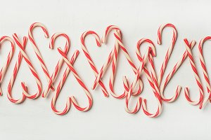 Christmas holiday red candy cane