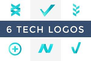 Tech Logos –6 pack