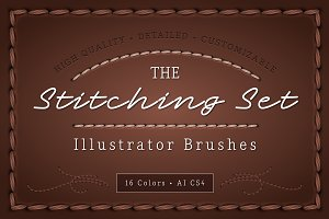 The Stitching Set - AI Brushes