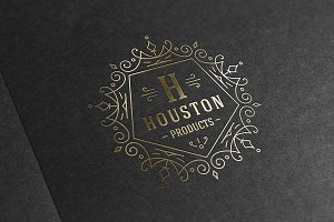 Luxury ornament logo