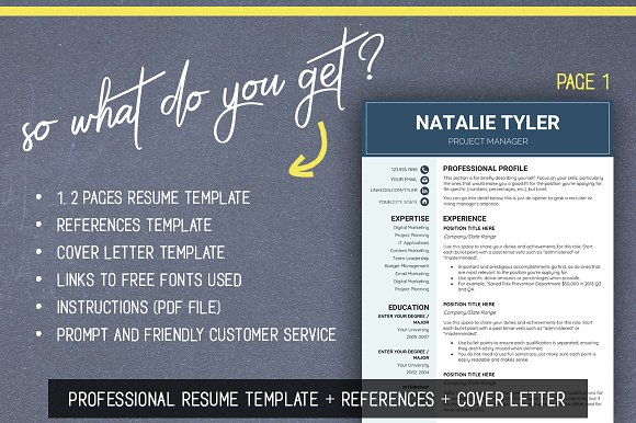 Resume cv template ms word a4 us resume templates creative resume cv template ms word a4 us resume templates creative market yelopaper Images