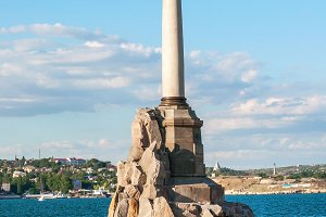 Sevastopol Monument to the Scuttled