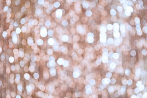 shimmering bokeh background with shining lights