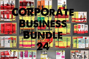 Corporate Business Bundle 24