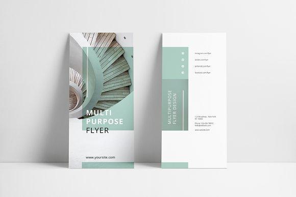 mint multipurpose trifold brochure brochure templates creative