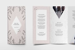 FLORAL Trifold Flyer