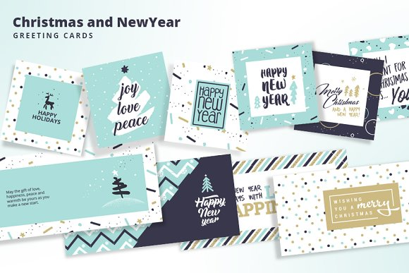 Christmas and New Year's C-Graphicriver中文最全的素材分享平台