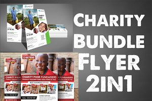 Charity Bundle Flyer 2in1
