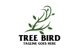 Tree Bird Logo