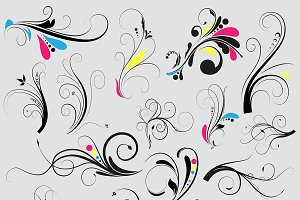 Not Another Floral Vector Set