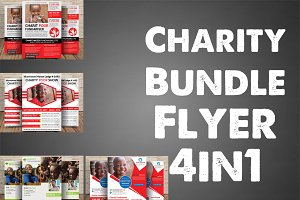 Charity Bundle Flyer 4in1