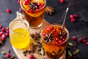 cranberry and anise tea