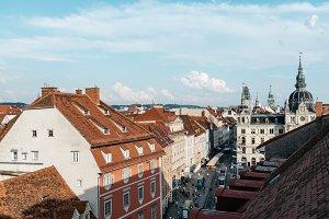 Cityscape of Graz