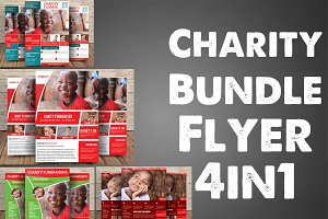 Charity Bundle Flyer 4in1