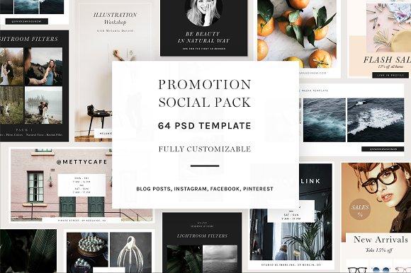 Promotion Social Pack