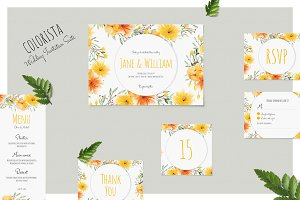 Colorista - Wedding Invitation Suite