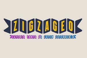 Zigzageo -3 fonts-