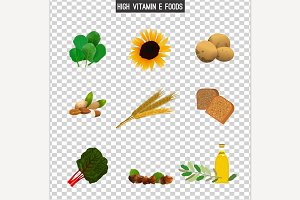 High vitamin E foods