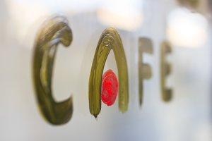 Coffee signboard