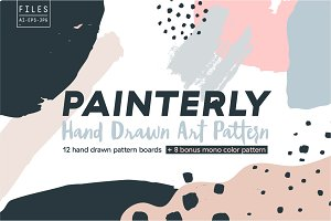 Painterly Pattern Pack