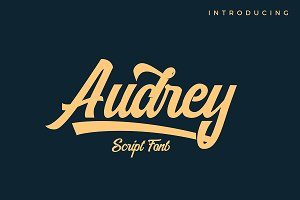 AUDREY SCRIPT FONT
