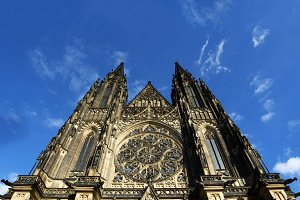 St. Vitus Cathedral in Prague, Czech