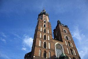 St. Mary's Church, Krakow, Poland