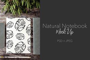Natural Notebook ~ 3 Books - P