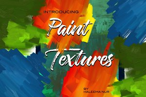 Oil & Acrylic Paint Textures