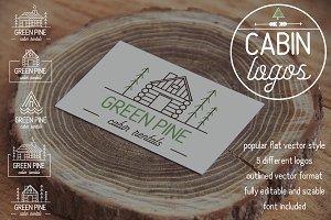 Cabin Logos