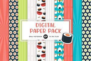 Sushi Digital Papers