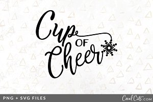 Cup of Cheer SVG/PNG Graphic