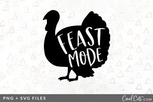 Feast Mode SVG/PNG Graphic