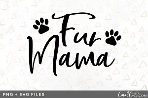 Fur Mama SVG/PNG Graphic